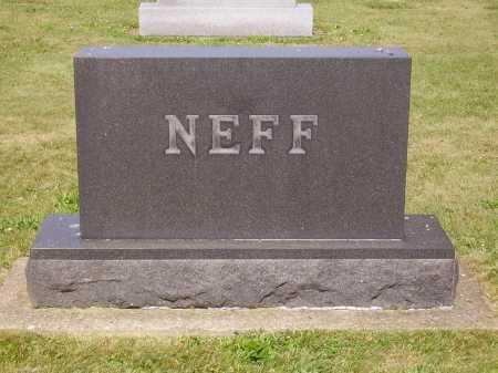 NEFF FAMILY, MONUMENT - Tuscarawas County, Ohio   MONUMENT NEFF FAMILY - Ohio Gravestone Photos