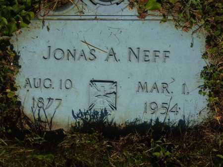 NEFF, JONAS A. - Tuscarawas County, Ohio | JONAS A. NEFF - Ohio Gravestone Photos