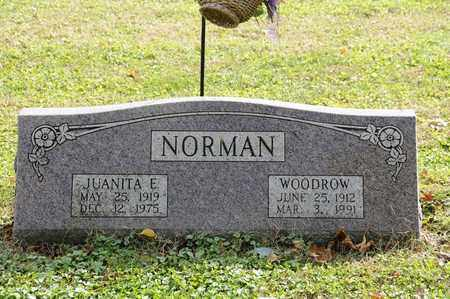 NORMAN, JUANITA E. - Tuscarawas County, Ohio | JUANITA E. NORMAN - Ohio Gravestone Photos