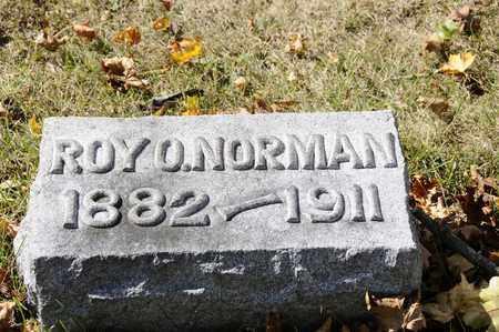 NORMAN, ROY O. - Tuscarawas County, Ohio | ROY O. NORMAN - Ohio Gravestone Photos