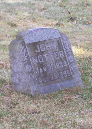 NOTTER, JOHN - Tuscarawas County, Ohio   JOHN NOTTER - Ohio Gravestone Photos