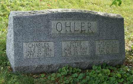 OHLER, CHARLES - Tuscarawas County, Ohio | CHARLES OHLER - Ohio Gravestone Photos