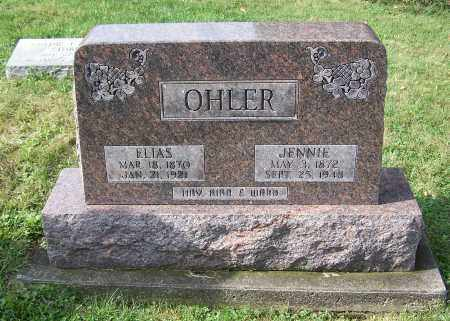 OHLER, ELIAS - Tuscarawas County, Ohio | ELIAS OHLER - Ohio Gravestone Photos