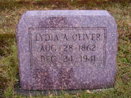 ANDERSON OLIVER, LYDIA A. - Tuscarawas County, Ohio | LYDIA A. ANDERSON OLIVER - Ohio Gravestone Photos