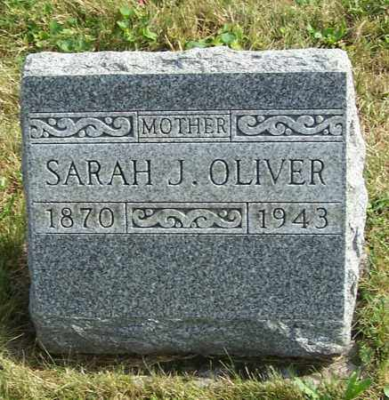 OLIVER, SARAH J. - Tuscarawas County, Ohio | SARAH J. OLIVER - Ohio Gravestone Photos