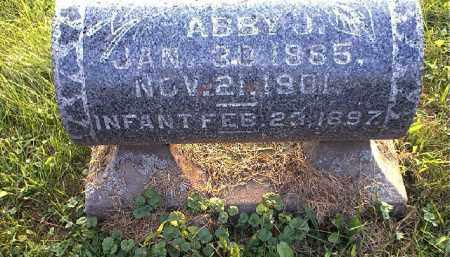 OVERHOLT, ABBY J - Tuscarawas County, Ohio | ABBY J OVERHOLT - Ohio Gravestone Photos