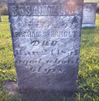 OVERHOLT, SUSANNAH - Tuscarawas County, Ohio   SUSANNAH OVERHOLT - Ohio Gravestone Photos
