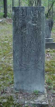 PARKS, MARY - Tuscarawas County, Ohio   MARY PARKS - Ohio Gravestone Photos