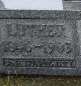 PEARCH, LUTHER - CLOSEVIEW - Tuscarawas County, Ohio | LUTHER - CLOSEVIEW PEARCH - Ohio Gravestone Photos