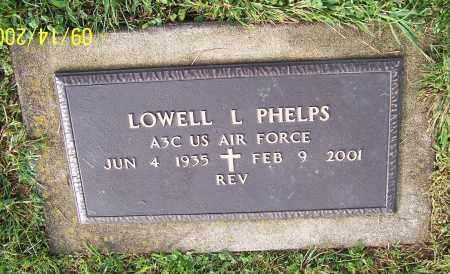 PHELPS, LOWELL L.  (MIL) - Tuscarawas County, Ohio | LOWELL L.  (MIL) PHELPS - Ohio Gravestone Photos