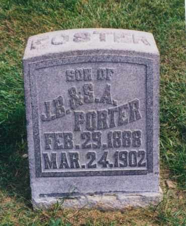 PORTER, FOSTER - Tuscarawas County, Ohio | FOSTER PORTER - Ohio Gravestone Photos