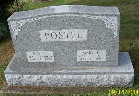 POSTEL, MARY D. - Tuscarawas County, Ohio | MARY D. POSTEL - Ohio Gravestone Photos