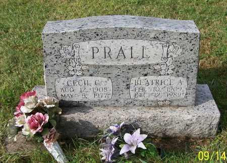 PRALL, CECIL C. - Tuscarawas County, Ohio | CECIL C. PRALL - Ohio Gravestone Photos