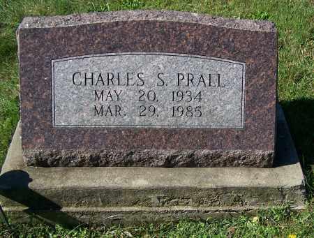 PRALL, CHARLES S. - Tuscarawas County, Ohio | CHARLES S. PRALL - Ohio Gravestone Photos