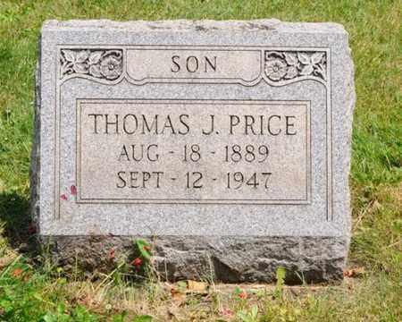 PRICE, THOMAS J. - Tuscarawas County, Ohio | THOMAS J. PRICE - Ohio Gravestone Photos