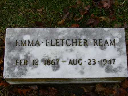REAM, EMMA - Tuscarawas County, Ohio | EMMA REAM - Ohio Gravestone Photos