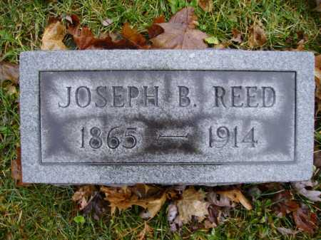 REED, JOSEPH B. - Tuscarawas County, Ohio | JOSEPH B. REED - Ohio Gravestone Photos