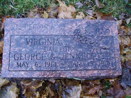 REED, VIRGINIA - Tuscarawas County, Ohio | VIRGINIA REED - Ohio Gravestone Photos