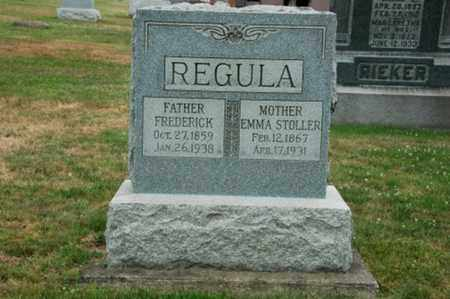 REGULA, EMMA - Tuscarawas County, Ohio | EMMA REGULA - Ohio Gravestone Photos