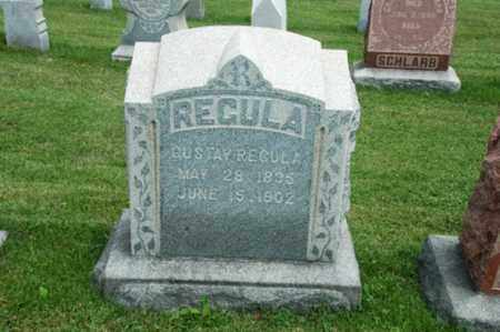 REGULA, GUSTAV - Tuscarawas County, Ohio | GUSTAV REGULA - Ohio Gravestone Photos