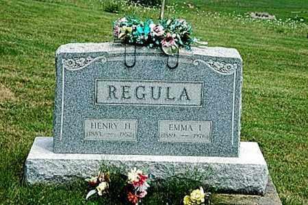 STEIN REGULA, EMMA I. - Tuscarawas County, Ohio | EMMA I. STEIN REGULA - Ohio Gravestone Photos