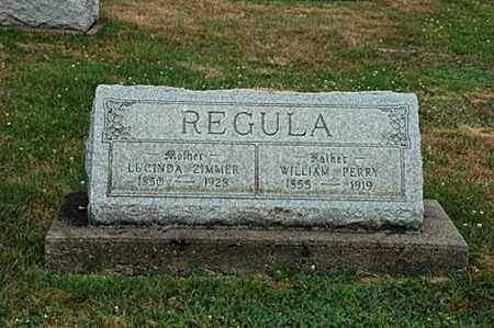 ZIMMER REGULA, LUCINDA - Tuscarawas County, Ohio | LUCINDA ZIMMER REGULA - Ohio Gravestone Photos