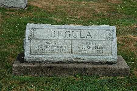 REGULA, LUCINDA - Tuscarawas County, Ohio | LUCINDA REGULA - Ohio Gravestone Photos