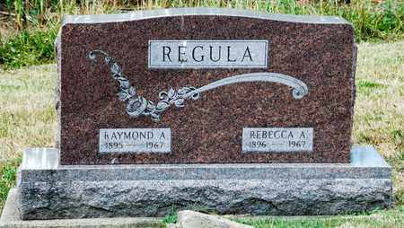 REGULA, RAYMOND A. - Tuscarawas County, Ohio | RAYMOND A. REGULA - Ohio Gravestone Photos