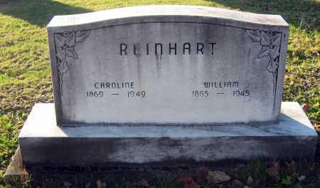 REINHART, WILLIAM - Tuscarawas County, Ohio | WILLIAM REINHART - Ohio Gravestone Photos
