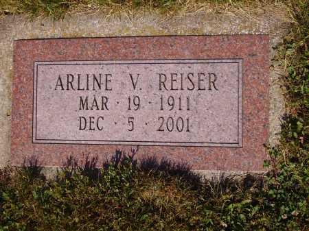 HAWKINS REISER, ARLINE V. - Tuscarawas County, Ohio   ARLINE V. HAWKINS REISER - Ohio Gravestone Photos