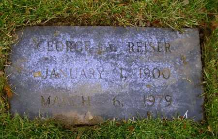 REISER, GEORGE ARTHUR - Tuscarawas County, Ohio | GEORGE ARTHUR REISER - Ohio Gravestone Photos