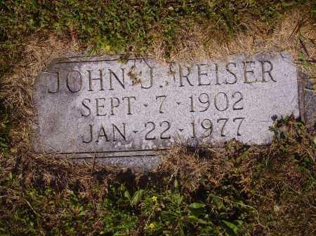 REISER, JOHN J. - Tuscarawas County, Ohio | JOHN J. REISER - Ohio Gravestone Photos