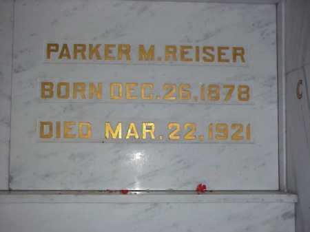 REISER, PARKER MONROE - Tuscarawas County, Ohio | PARKER MONROE REISER - Ohio Gravestone Photos