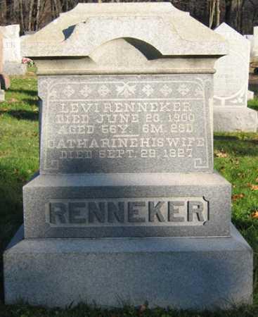 RENNEKER, LEVI - Tuscarawas County, Ohio | LEVI RENNEKER - Ohio Gravestone Photos