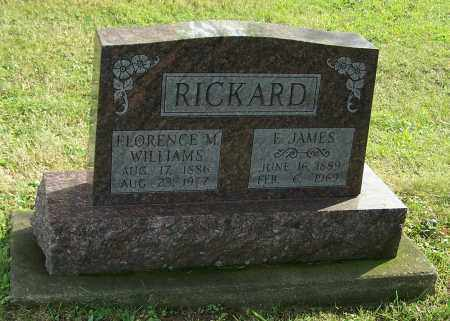 RICKARD, FLORENCE M. - Tuscarawas County, Ohio | FLORENCE M. RICKARD - Ohio Gravestone Photos