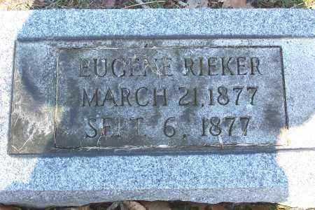 RIEKER, EUGENE - Tuscarawas County, Ohio | EUGENE RIEKER - Ohio Gravestone Photos