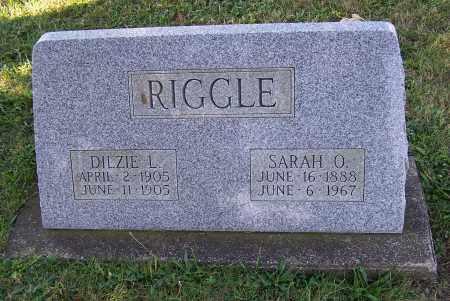 RIGGLE, DILZIE L. - Tuscarawas County, Ohio | DILZIE L. RIGGLE - Ohio Gravestone Photos
