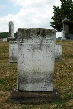 RINEHART, JOHN - Tuscarawas County, Ohio | JOHN RINEHART - Ohio Gravestone Photos
