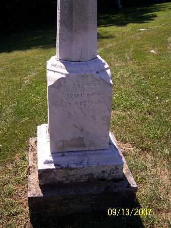 ROBINSON, JANE - Tuscarawas County, Ohio   JANE ROBINSON - Ohio Gravestone Photos