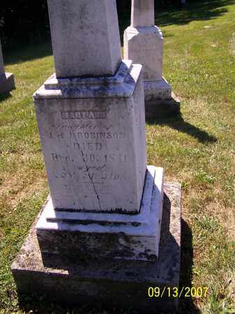 ROBINSON, MARY ANN - Tuscarawas County, Ohio   MARY ANN ROBINSON - Ohio Gravestone Photos