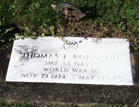 ROBINSON, THOMAS E.   (MIL) - Tuscarawas County, Ohio | THOMAS E.   (MIL) ROBINSON - Ohio Gravestone Photos
