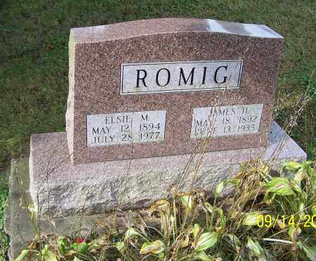 ROMIG, JAMES H. - Tuscarawas County, Ohio | JAMES H. ROMIG - Ohio Gravestone Photos