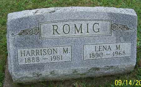 ROMIG, HARRISON M. - Tuscarawas County, Ohio | HARRISON M. ROMIG - Ohio Gravestone Photos