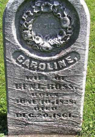 ROSS, CAROLINE - Tuscarawas County, Ohio | CAROLINE ROSS - Ohio Gravestone Photos
