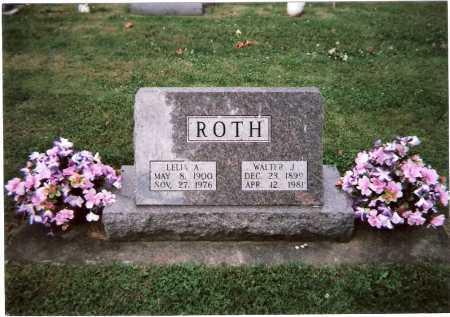 ROTH, WALTER JAMES - Tuscarawas County, Ohio | WALTER JAMES ROTH - Ohio Gravestone Photos