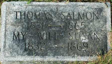 SALMON, THOMAS - Tuscarawas County, Ohio | THOMAS SALMON - Ohio Gravestone Photos