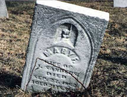 HARMON SANDERS, MARY F. - Tuscarawas County, Ohio | MARY F. HARMON SANDERS - Ohio Gravestone Photos