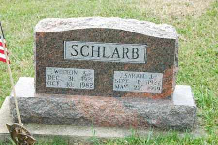SCHLARB, WELTON A. - Tuscarawas County, Ohio | WELTON A. SCHLARB - Ohio Gravestone Photos
