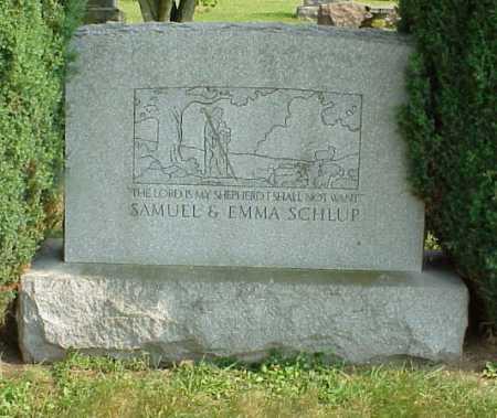 SCHLUP, EMMA - Tuscarawas County, Ohio | EMMA SCHLUP - Ohio Gravestone Photos