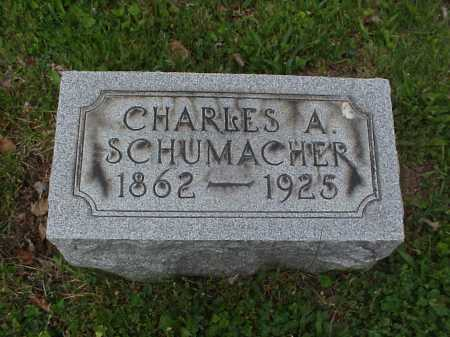 SCHUMACHER, CHARLES ADAM - Tuscarawas County, Ohio | CHARLES ADAM SCHUMACHER - Ohio Gravestone Photos